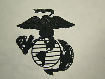 Usmc Marine Corps Ega Transfer Emblem Camo Bdu Pocket Iron On Decal Globe Anchor