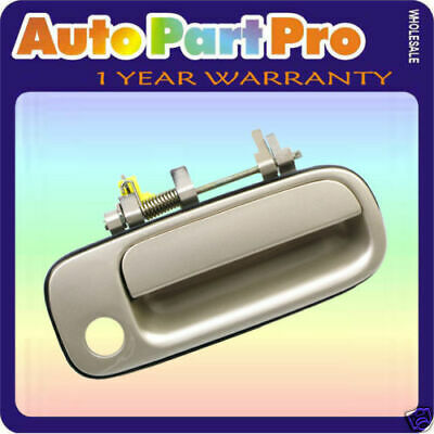 For 92-96 Toyota Camry Outside Door Handle Cashmere Beige Metallic 4M9 Front R