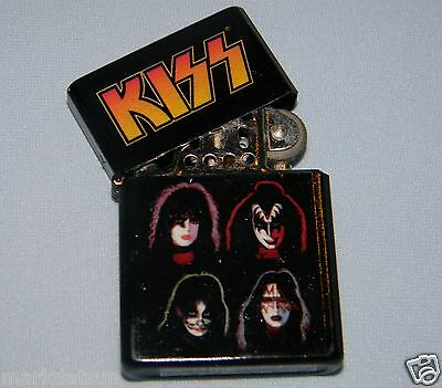 KISS Authentic LIGHTER 4 FACES New