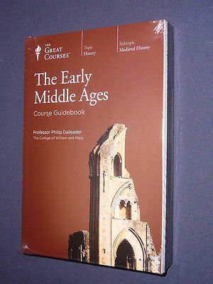 Teaching Co Great Courses  CDs           THE EARLY MIDDLE AGES    newest release