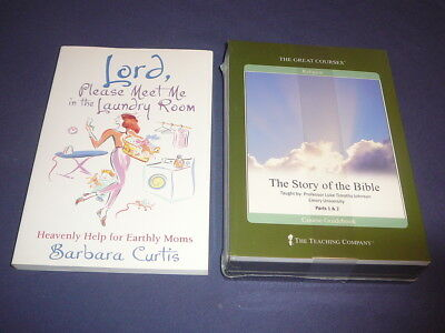 Teaching Co Great Courses  CDs         THE STORY OF THE BIBLE      new + BONUS