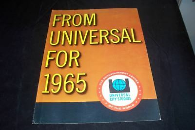 1965 Universal Pictures Studio Movie Campaign Preview