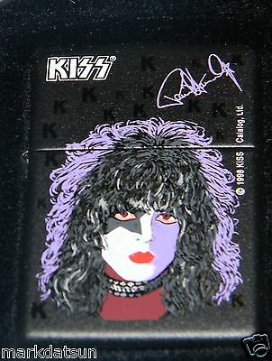 KISS PAUL STANLEY Authentic ZIPPO LIGHTER New In Box