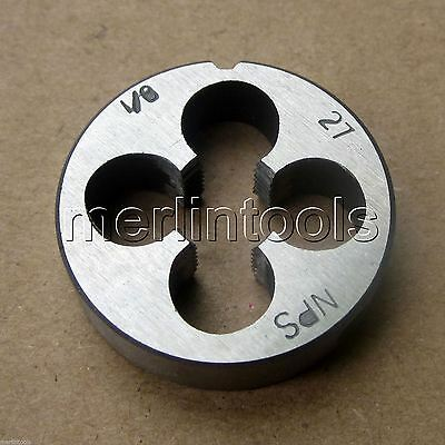 "1/8"" - 27 NPS Straight Pipe Die 1/8 - 27 TPI"