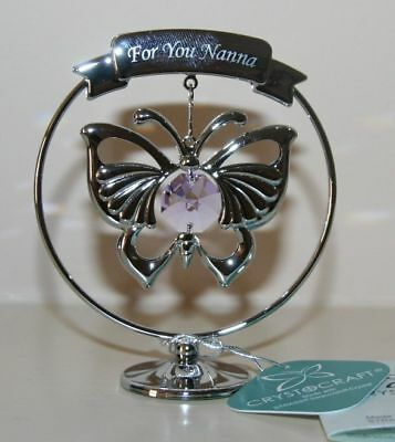 Crystocraft - Butterfly For You Nanna with Strass Swarovski Crystal Elements