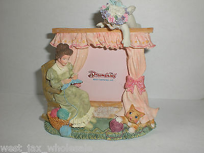 DREAMSICLES Sewn With Love Collectible Handcrafted Angel Picture Frame 11993 New