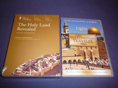 Teaching Co Great Courses  DVDs          THE HOLY LAND REVEALED      new + BONU