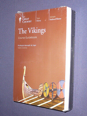 Teaching Co Great Courses DVDs            THE  VIKINGS           new + BONUS