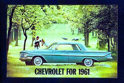 1961 Chevrolet Full Line Brochure