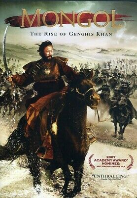 Mongol (DVD, 2008) The rise of Genghis Khan the Mongol warrior   RATED R