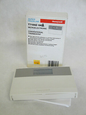 NEW IN BOX HONEYWELL T7100D 1001 THERMOSTAT T7100D1001