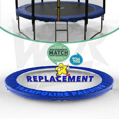 8FT 10FT 12FT 14 Replacement Trampoline Safety Spring Cover Padding Pads PVC Mat