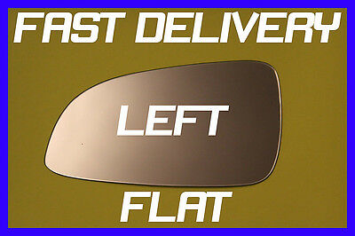 Vauxhall Astra H Twinport Hatchback 04-08 Door Wing Mirror Glass Flat Left