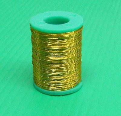 100 Yards Grade A Metalic Fishing Rod Building Whipping Thread - Gold