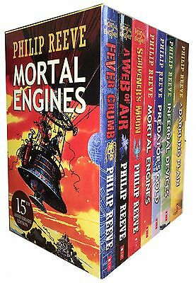 Mortal Engines Collection Philip Reeve 7 Books Boxed Set Pack