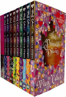The Princess Diaries Collection Meg Cabot 10 Books Set Children Books Gift Pack