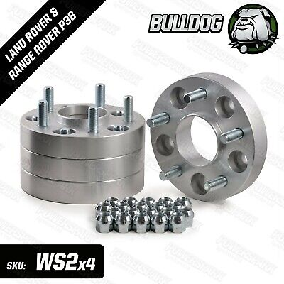 Land Rover Discovery 2 30mm Aluminium Wheel Hubcentric Wheel Spacers & Bolts