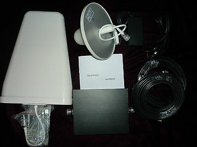 Cell Phone Signal Booster Repeater Dual Band 850 / 1900 MHz