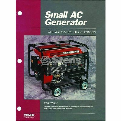 SERVICE MANUAL SMALL AC GENERATOR VOL 2 first edition