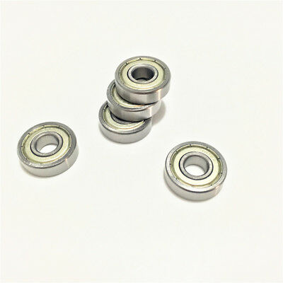 5pcs 608ZZ 608-2Z 608Z 608 Deep Groove Ball Bearing Miniature Bearing 8x22x7 mm