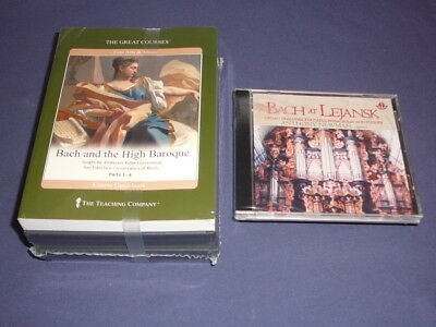 Teaching Co Great Courses DVDs           BACH and the HIGH BAROQUE   new + BONUS
