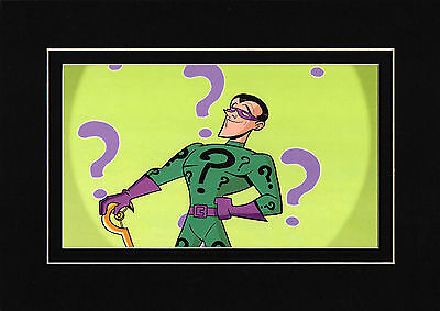 Riddler Matted Print Batman: Brave & Bold