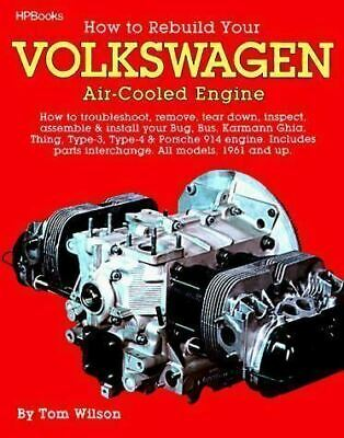 How to Rebuild Volkswagen VW Air Cooled Engine BUS GHIA transporter Porsche 914