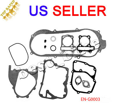 Short case 13 pieces 150cc GY6 SCOOTER Moped ATV Go Kart engine GASKET