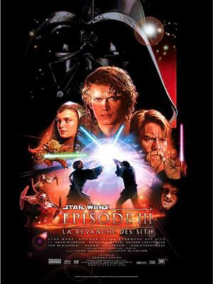 STAR WARS 3 Revenge of the Sith Affiche Cinéma 53x40 Movie Poster GEORGE LUCAS