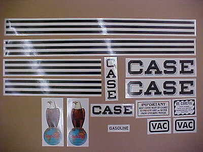 Case VAC decals