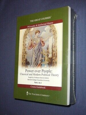 Teaching Co Great Courses  DVDs         POWER  OVER  PEOPLE        new  + BONUS