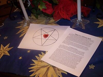Wicca Magick--LOVE & PASSION TALISMAN--Brings Love & Passion To You