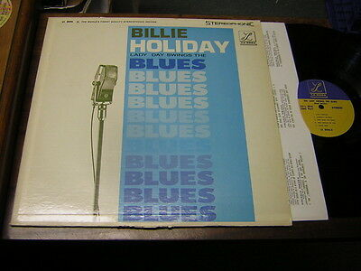 Billie Holiday 50s JAZZ LP Lady Day Swings the Blues STEREO USA ISSUE