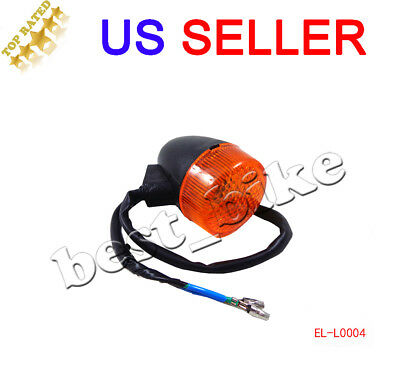 Moped Scooter Front Turn Signal Light GY6 50 150cc 12V 2 Pin Motorcycle Chinese