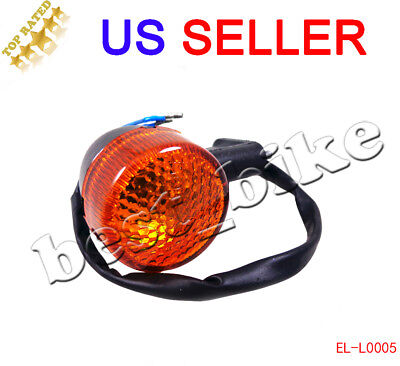 Moped Scooter Rear Turn Signal Light GY6 50 150cc 12V 2 Pin Motorcycle Chinese