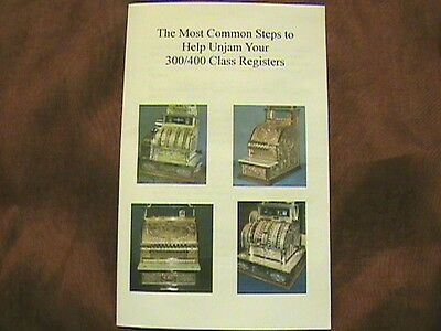 """Most Common Steps To """"unjam"""" Your National Cash Register Class 300/400 Ncr"""
