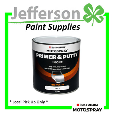 One Step Primer/putty 4L Motospray - Hichem Acrylic Enamel