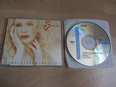 SPAGNA Always Dream About You 1993 EUROPEAN 4 versions CD single