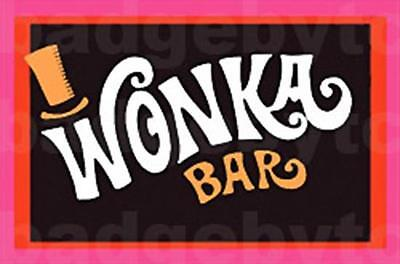 Wonka Bar  Large Fridge Magnet  -  Retro Cool!