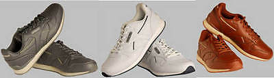 Drakes Pride Solar Unisex Bowls Trainers Shoes In White-Grey-Tan Sizes 3 - 12