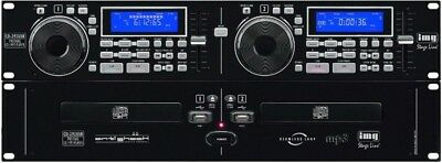 IMG CD-292USB Profi DJ-Dual-CD- und MP3-Player DJ