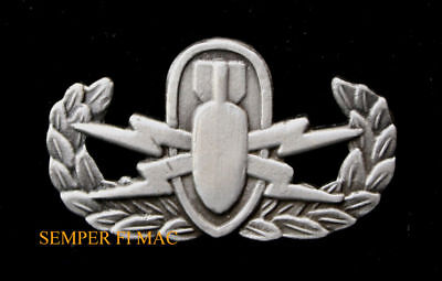 Eod Explosive Ordnance Disposal Badge Hat Pin Up Us Army Marines Navy Air Force