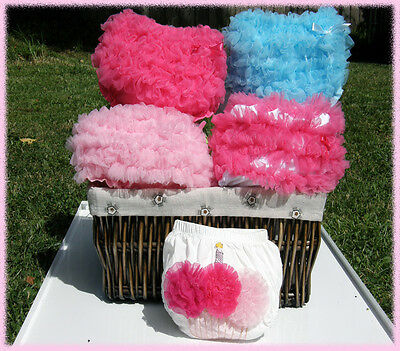 Cute Baby Toddler Ruffle Bloomers/ Frilly Nappy Covers Many Styles FREE POSTAGE