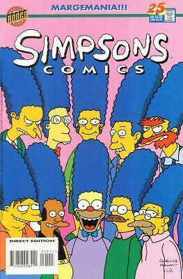 Bongo comics Simpsons 25 NM FREE UK POST
