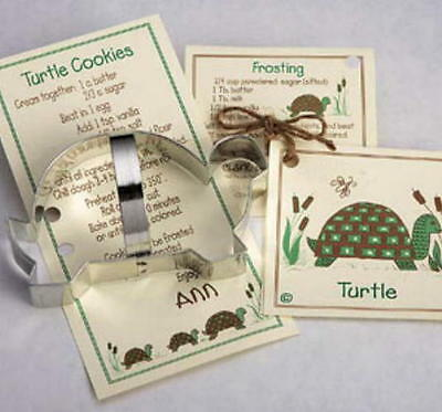 ANN CLARK~TURTLE~ tin cookie cutter~MADE IN USA (NEW)
