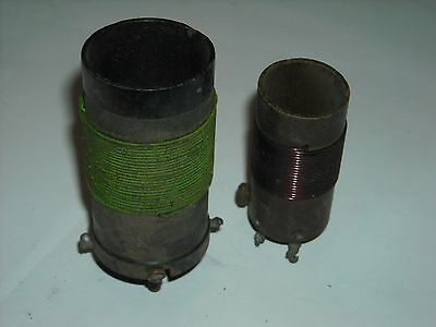 Vintage/Antique Radio Part- Lot of 2 RF Choke / Antenna Tuning Coils Inductors