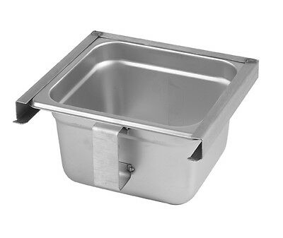 Exhaust Hood Grease Tray/Cup Slide Out Type stainless steel NEW 31915