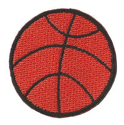 Écusson patche Basketball Basket Balle thermocollant patch brodé