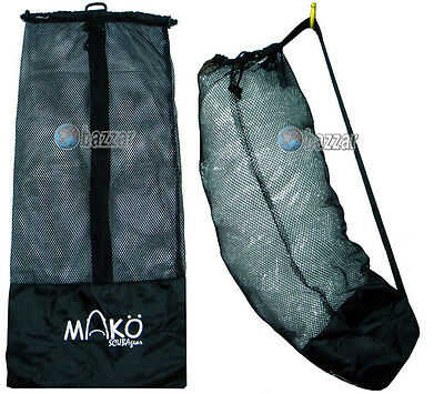 Scuba Dive Gear Diving Snorkelling Kayak Canoe Camp Bag Mesh Sling Beach Bag