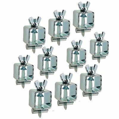 Intergrips butt weld clamps sheet metal fasteners 10pk